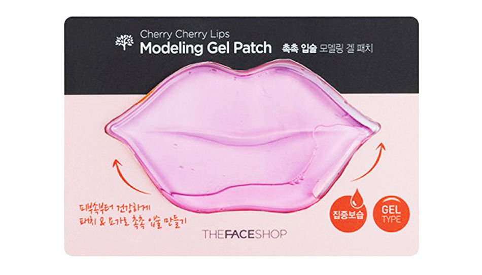 Гелевая маска для губ Cherry Cherry Lips Modeling Gel Patch, The Face Shop